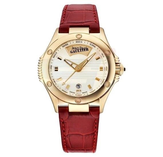 Jean Paul Gaultier Swiss Made Men Red Watch - JPG0101004