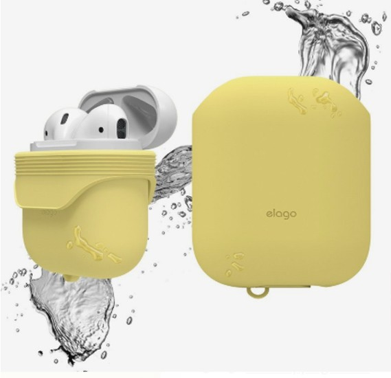 Elago Waterproof Case Creamy Yellow for AirPods