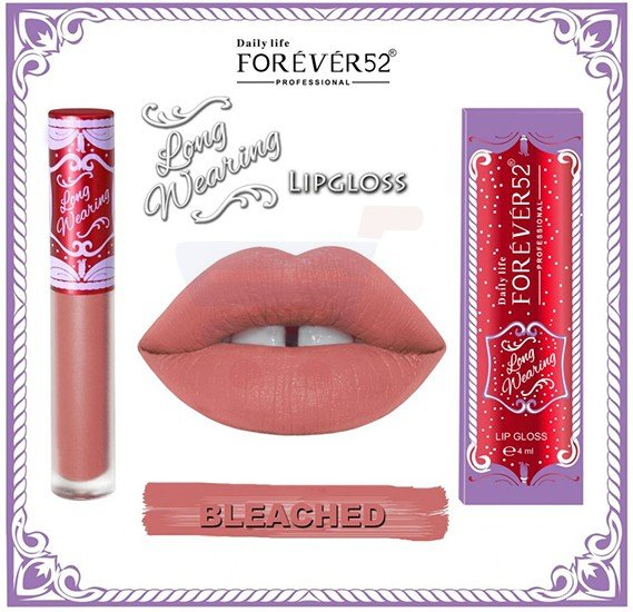 Forever52 Long Wearing Bleached Color Matte Lipgloss