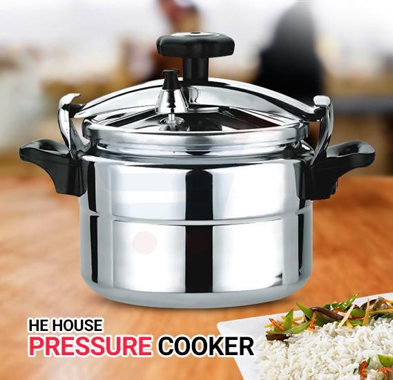 HeHouse Aluminum Pressure Cooker 3L