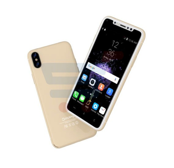 Gmango I8 Smartphone 4G LTE, Android 6.1, 5.0 Inch HD Display, 3GB RAM, 16GB Storage, Dual Camera, Dual Sim- Gold