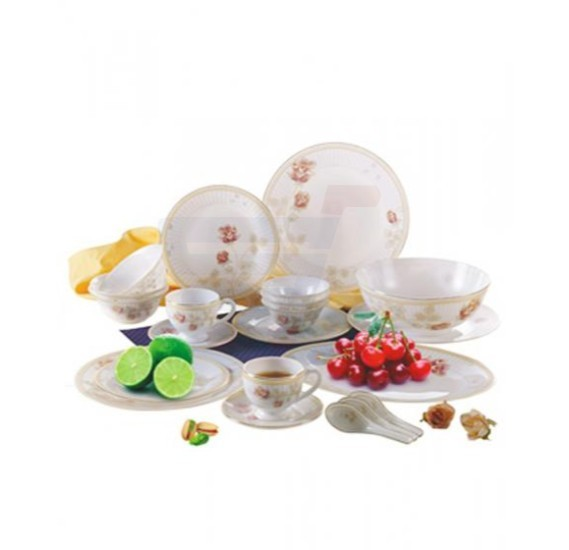 Flamingo Opal Ware Dinner Set 42 PCS - FL7011ODS