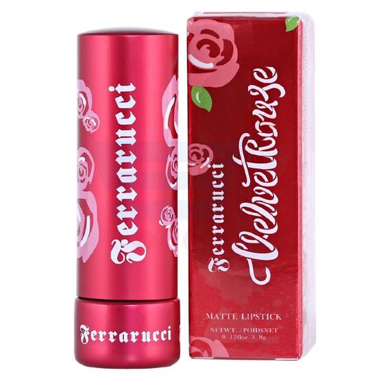 Ferrarucci Velvet Rouge Lipstick 3.8g, Brown