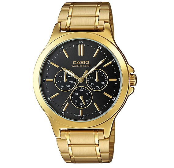 Casio MTP-V300G-1AUDF Enticer Analog Multi Dial Mens Watch