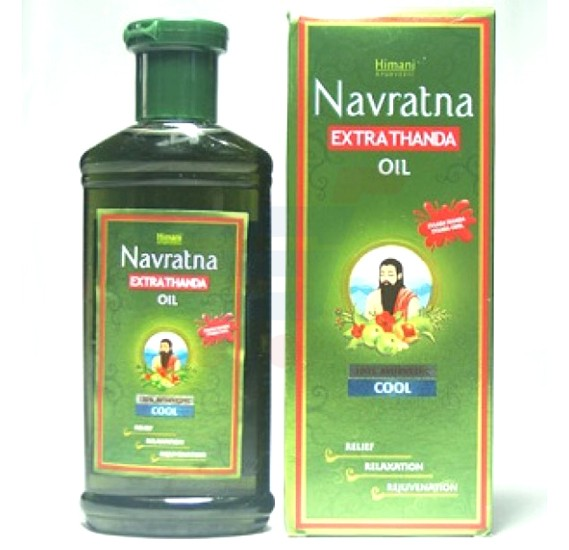 Navratna Extra Thanda Cool Oil 200ml - 3095