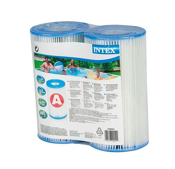 Intex-Filter cartridge a twin pack, shrink wrap w/ litho-29002