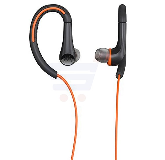 Motorola Sports Headphones Orange