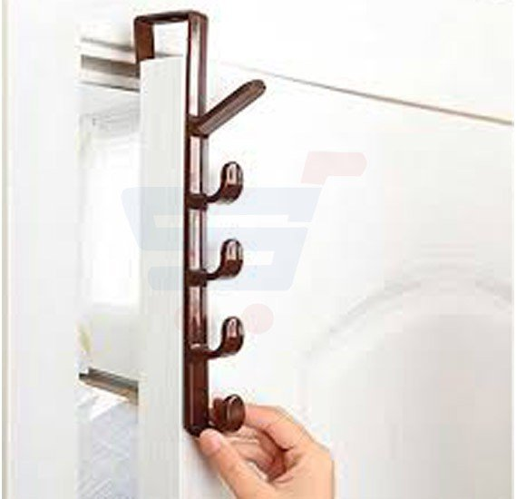 5 Level Door Hook Multipurpose Plastic - RS2006