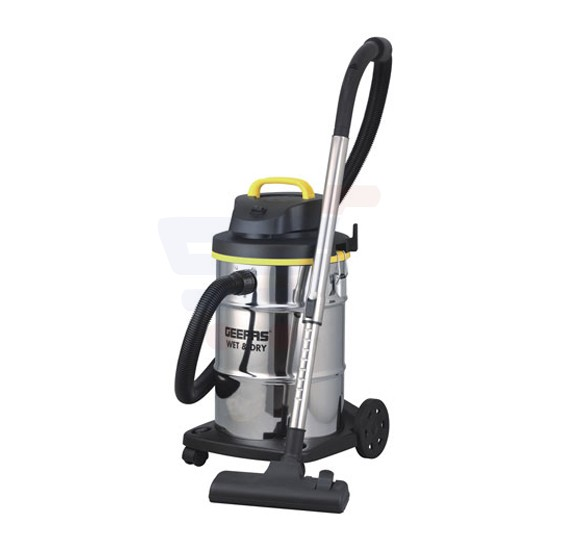 Geepas Wet  Dry Stainless Steel Vacuum Cleaner - GVC19012