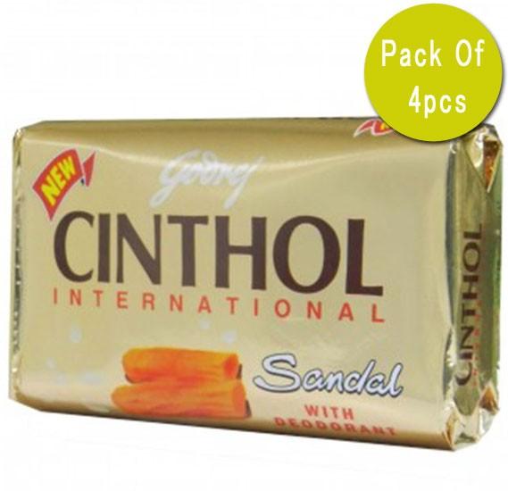 Godrej Cinthol Sandal Soap 4x175g