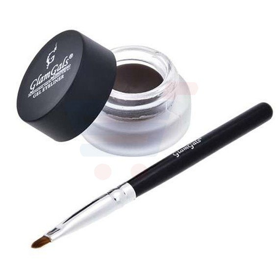 GlamGals Gel Eyeliner Brown - GE02