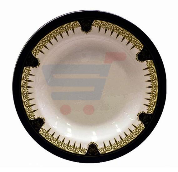 RoyalFord Melamine Ware RF1071 DP10, 10 Inch Dinner Plate White