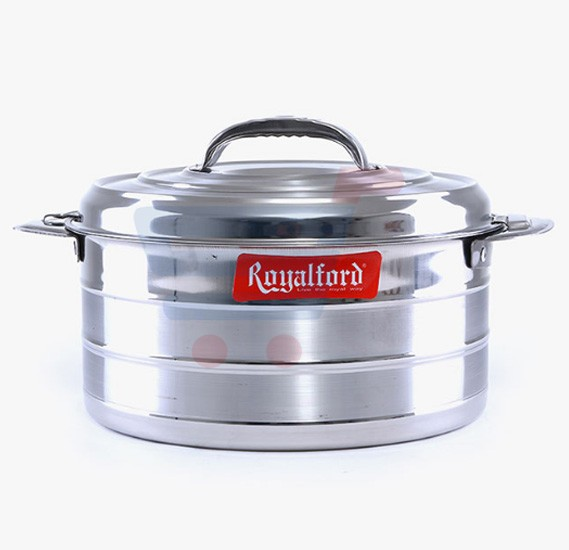 Royalford Steam line Stainless Steel Hot Pot 1Ltr - RF6915