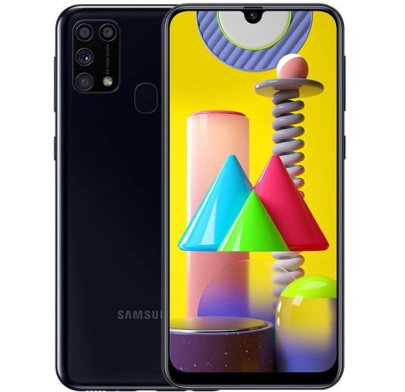 Samsung Galaxy M31 Dual SIM, 128GB, 6GB RAM, 4G LTE-Black