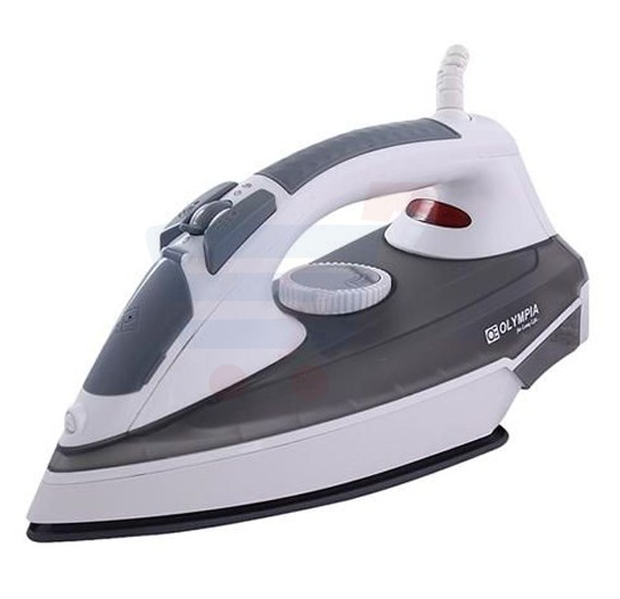 Olympia Ceramic Sole Plate Steam Iron 2300 Watts, OE-22