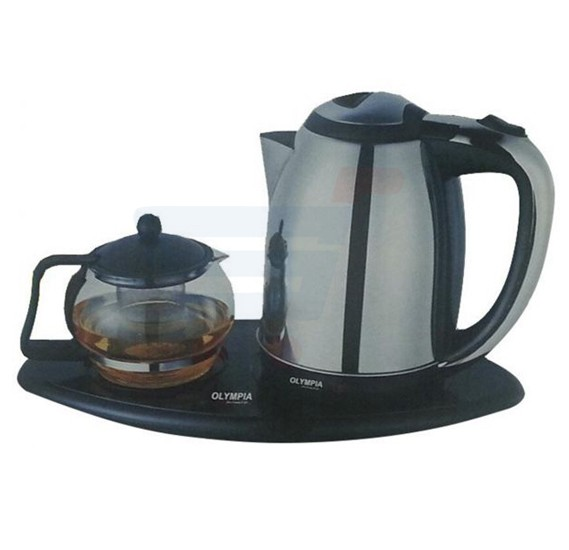 Olympia Tea Set With Electric 2 Liters Kettle OE-4000A
