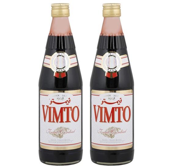 2 in 1 Vimto Cordial Dilutable Juice 710ml