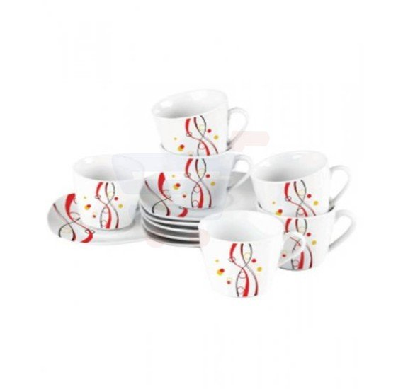Flamingo Porcelain Coffee Set 12 PCS - FL7720PCS