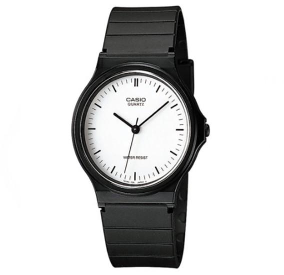 Casio Resin Band Watch For Men, MQ-24-7ELDF