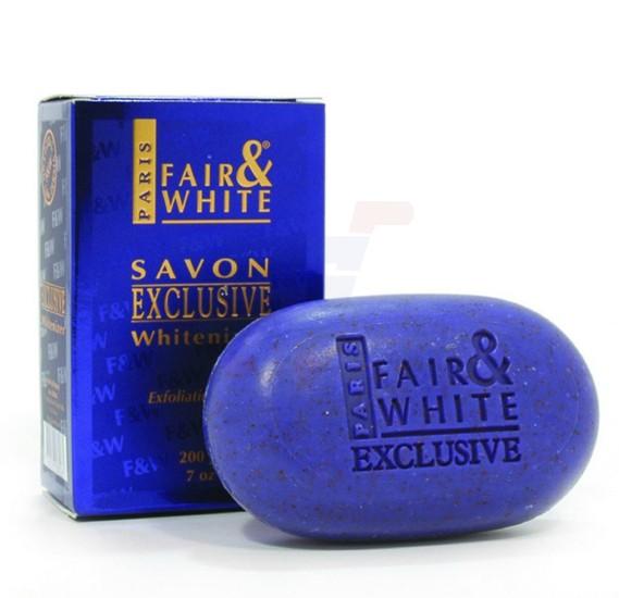 Fair & White Exclusive Whitenizer Exfoliating Soap 200G