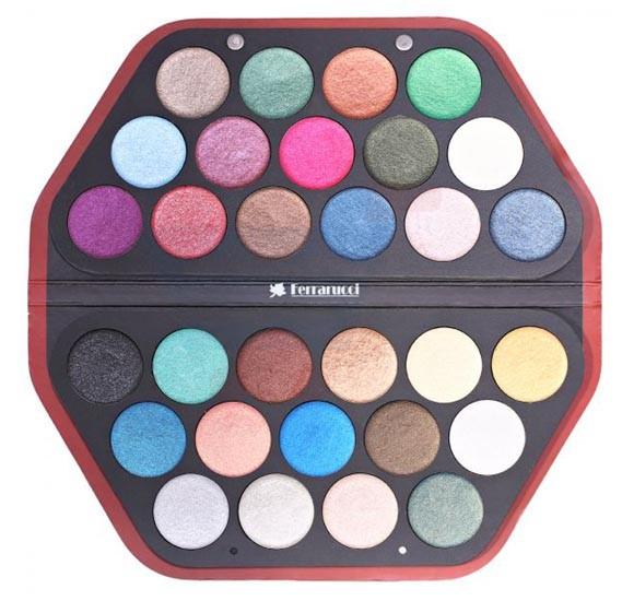 Ferrarucci 30 Color Eye Shadow 150g, 03