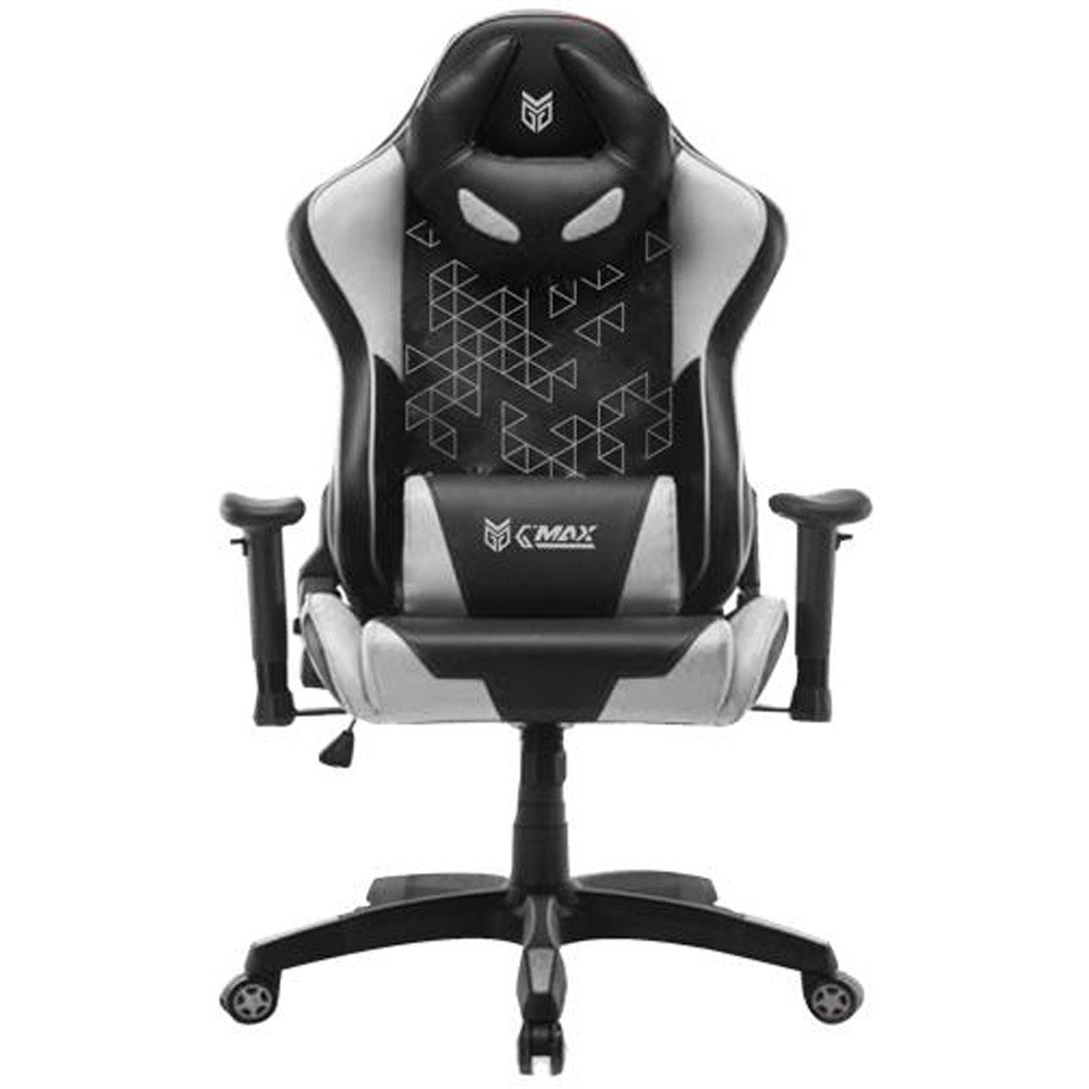 G-Max GMC-8073BW Gaming Chair, Black and White