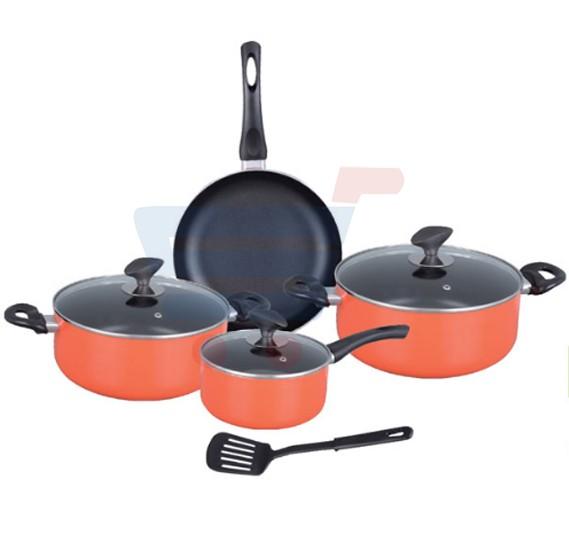 Royalford 8 Pcs Non Stick Cookware Set - RF7777
