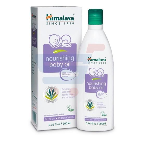 Himalaya Nourishing Baby Oil With Pump 300 ML