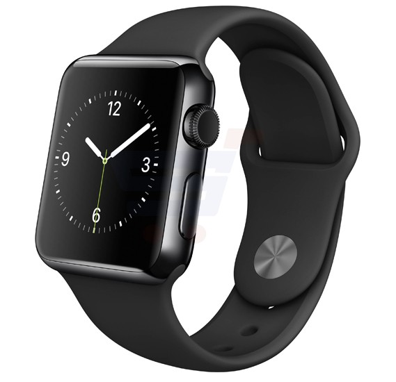 Apple Series 1 38MM 2015 MLCK2 Sport Ss Black