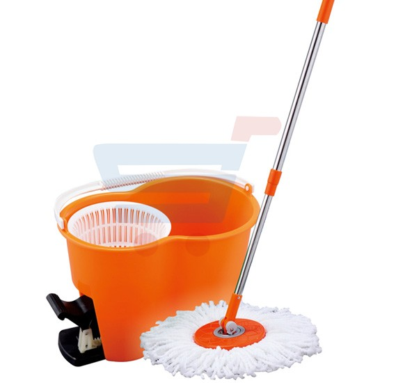 Royalford Spin Easy Mop With Bucket( Pedal) - RF4238