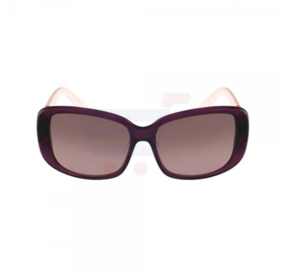 Lacoste Rectangular Purple / Pink Frame & Brown Gradient Mirrored Sunglasses For Woman - L749S-513