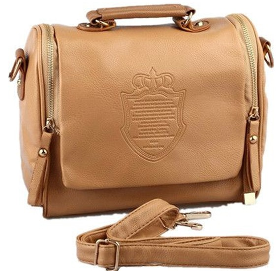 Brown Vintage Cross Body Shoulder Bag For Women
