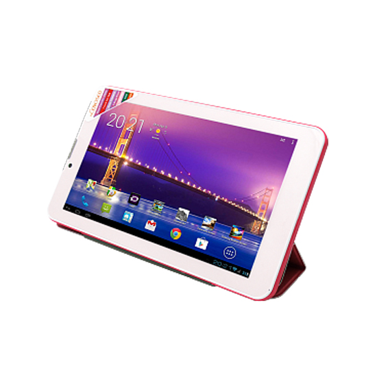 Lenosed L77 3G Tablet, Android 4.2.2,7.0 Inch LCD Display,1GB RAM,8GB Storage,Dual SIM,Dual Camera,Dual Core,WiFi,Bluetooth-Pink