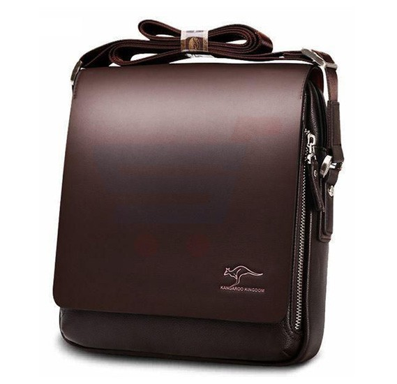 Kangaroo Kingdom Leather Messenger Bag For Men Brown Online Dubai Uae Oursho 19217