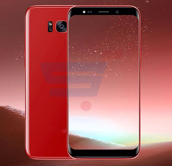 Gmango S8 Smartphone 4G LTE, Android 6.0, 5.0 Inch HD Display, 2GB RAM, 16GB Storage, Dual Camera, Dual Sim- Red