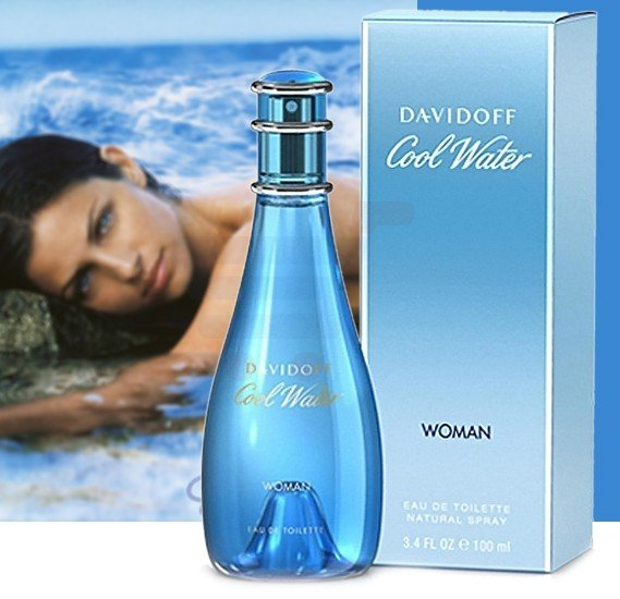 Davidoff Cool Water Women Edt 100 ml  Perfume