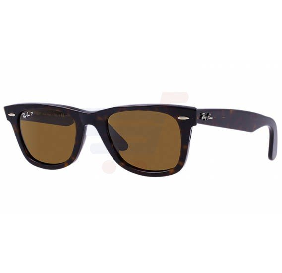 Ray-Ban Wayfarer Tortoise Frame & Light Brown Mirrored Sunglasses For Unisex - RB2132-902-57-55