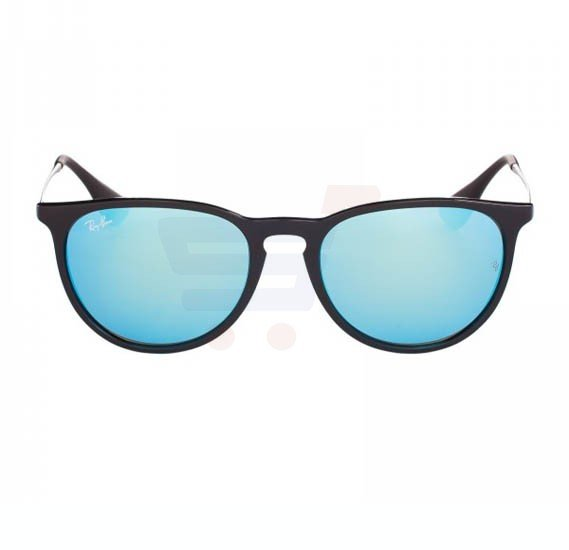Ray-Ban Pilot Black Frame & Blue Mirrored Sunglasses For Women - RB4171-601-55-54