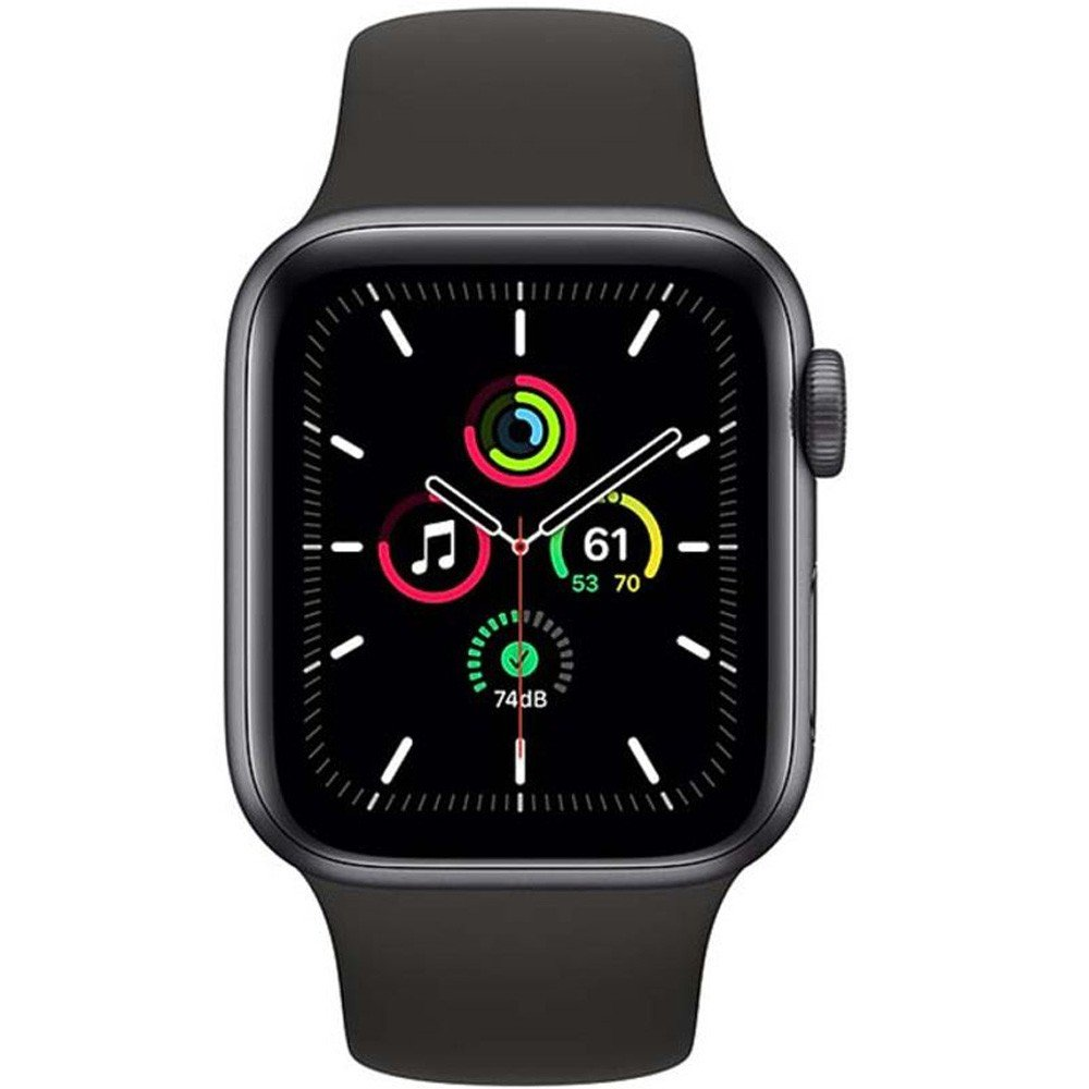 Apple Watch SE-40mm GPS Space Gray Aluminium Case with Black Sport Band