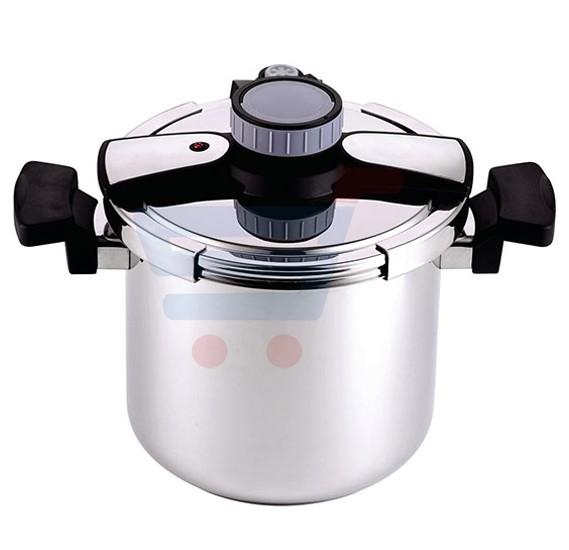 Royalford 7L Stainless Steel Noiseless Pressure Cooker - RF7605