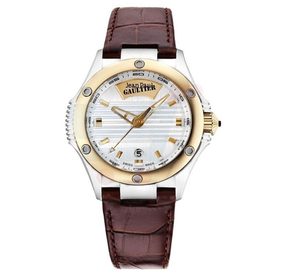 Jean Paul Gaultier Swiss Made Men Brown Watch - JPG0101003