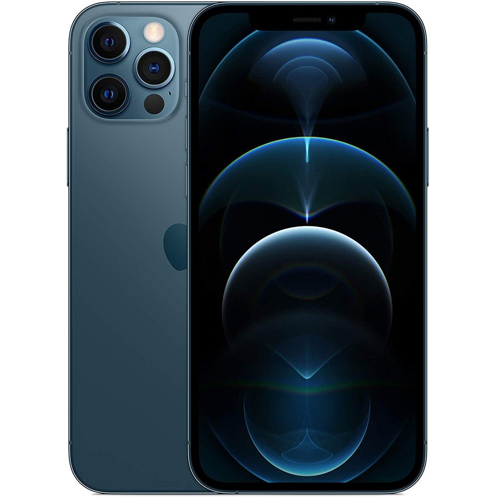 Apple iPhone 12 Pro Max With FaceTime Pacific Blue, 128GB Storage, 5G
