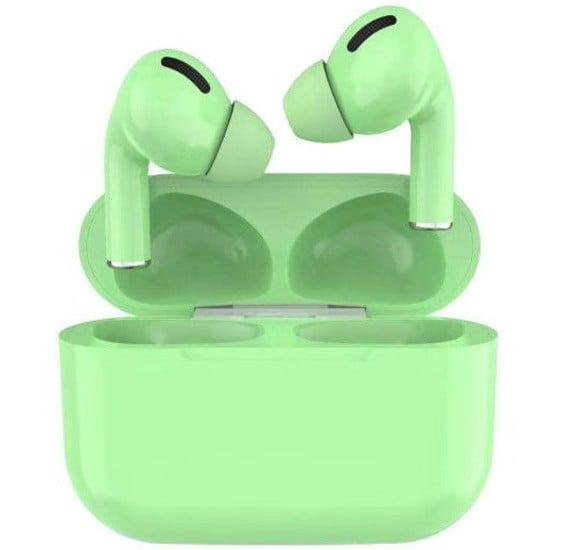 TWS Airpod Pro 3 Bluetooth Earphones Wireless Headset, Green