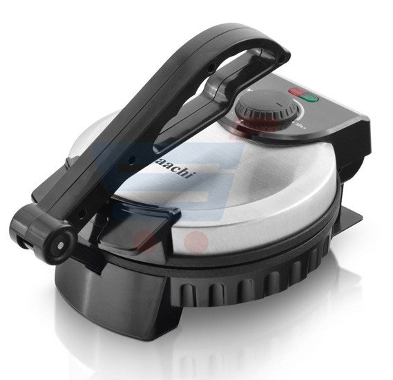 Saachi Non‐Stick Roti Maker Black - RM‐4974