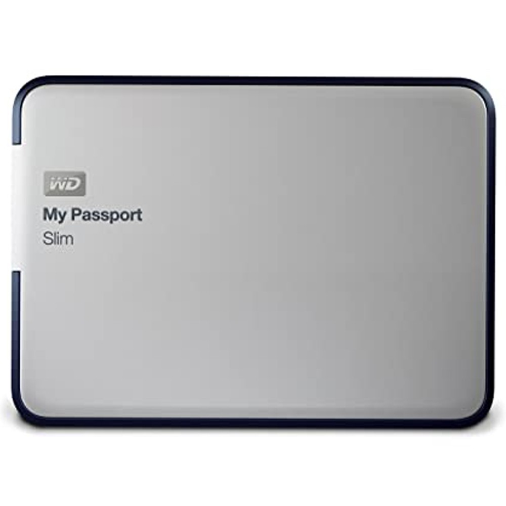 Wd My Passport Ext Hard Disk 2tb Slim