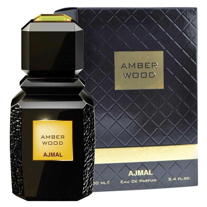 Ajmal Perfume Amber Wood Spray 100Ml,Unisex,6293708006731