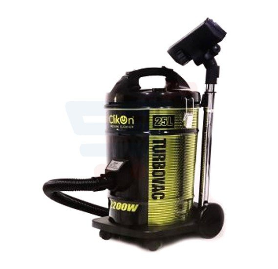 Clikon Vacuum Cleaner With Copper Motor 25L Drum Type- CK4024