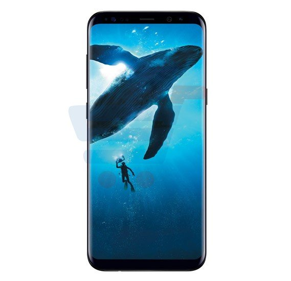 Samsung Galaxy S8, 4G, Android OS, 5.8inch Display, 4GB RAM, 64GB Storage, Dual SIM, Dual Camera, Quad-core 1.7 GHz, Wi-Fi, BT- Midnight Black