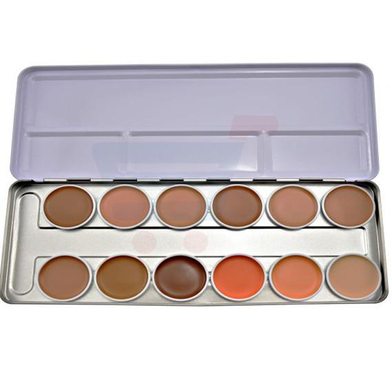 GlamGals Concealer Palette 12 Color