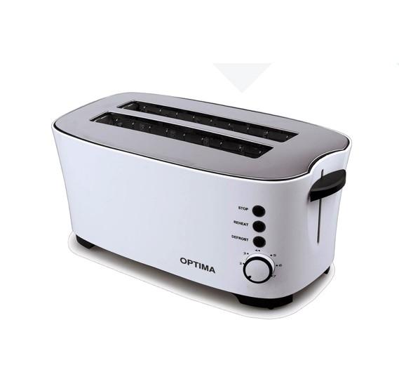 Optima 4 Slice Toaster 1350w, CT 1600